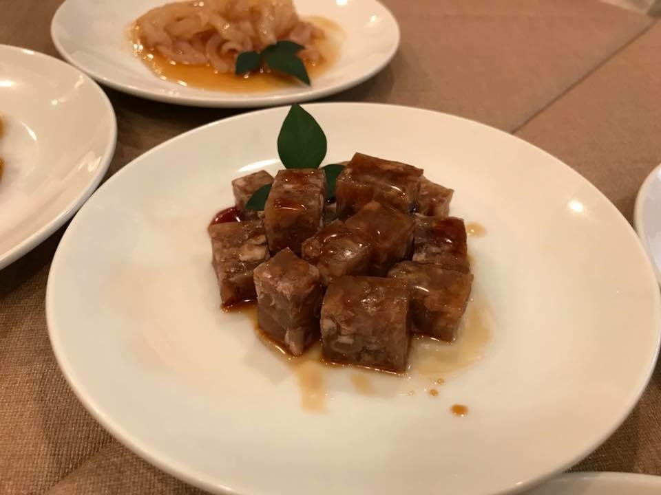 牛肉の煮凝り。