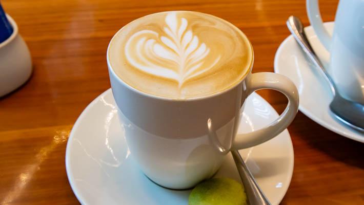オーソドックスなカフェラテ。