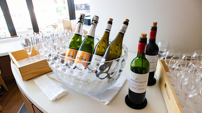 いかにも高級そうなワイン!
