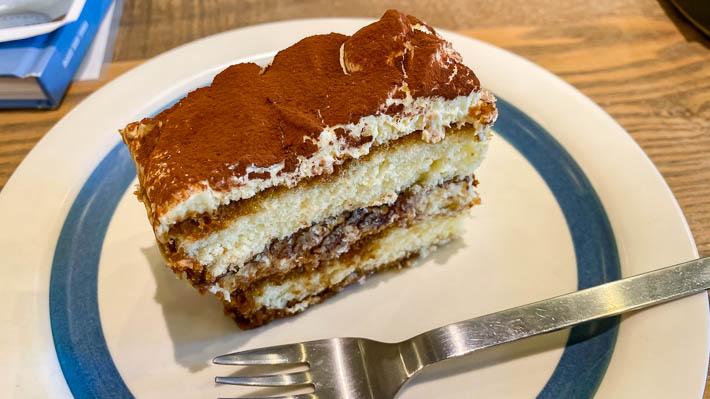 ティラミスのスコップケーキ