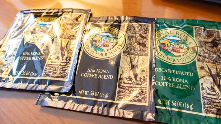 結構立派なコナ・コーヒー