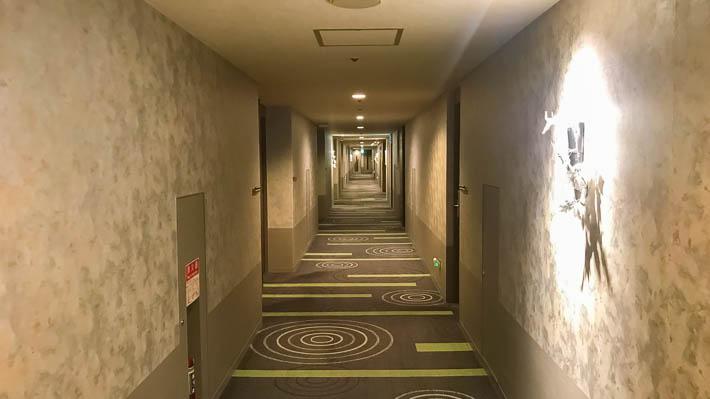 ホテル京阪京都グランデの客室フロア