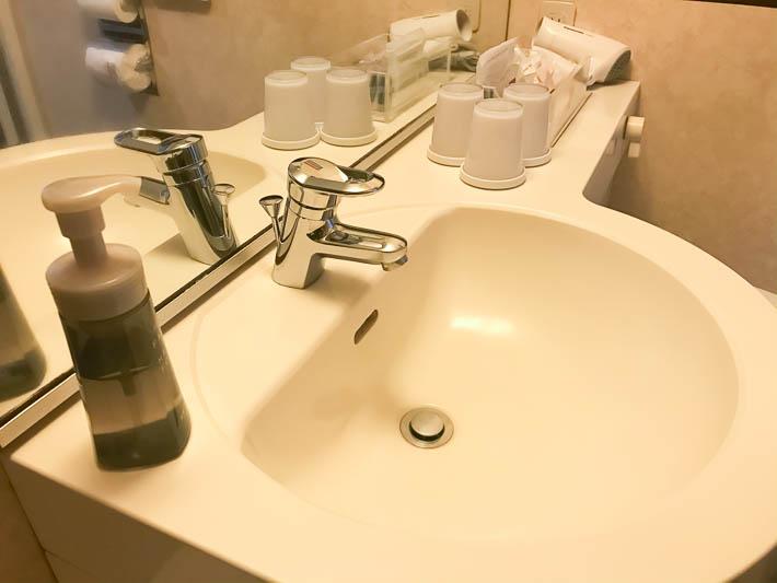 ホテル京阪京都グランデの水回り