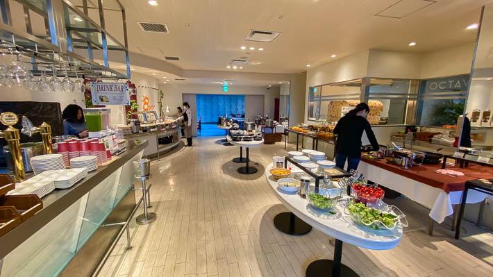 ホテル京阪京都グランデの朝食会場